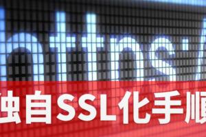独自SSL化の手順