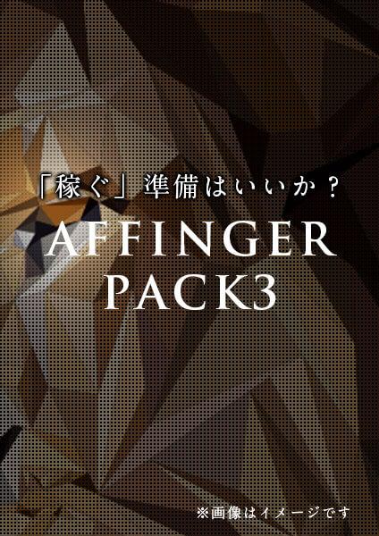 AFFINGER PACK3